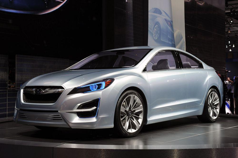 Концепт новой Subaru Impreza: пр…