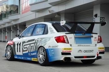 Subaru WRX STI ts, 24-часа Нюрбургринг, 2011