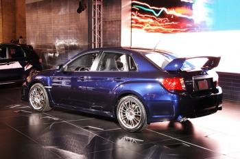 Обновленная Subaru Impreza WRX STI 2011MY седан