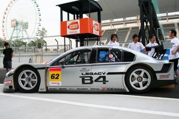 Гоночная Subaru Legacy B4 GT300