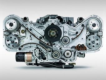 Новый оппозитный мотор Subaru