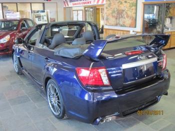 Subaru Impreza WRX STi кабриолет 2011MY
