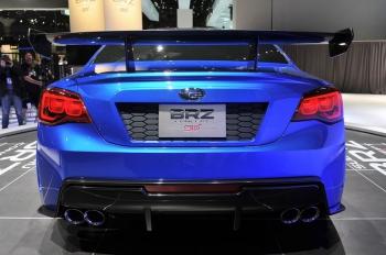 Заднеприводное купе Subaru BRZ STI