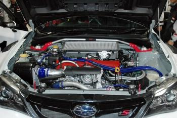 Subaru WRX STI ts, NBR Challenge 2011, турбо-мотор EJ20