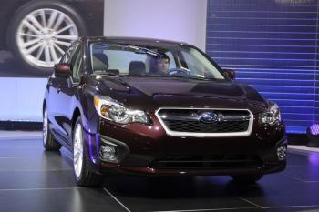 Новая Subaru Impreza седан