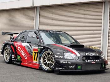 Cusco Subaru Impreza WRX STI, заслуженный боец SUPER GT
