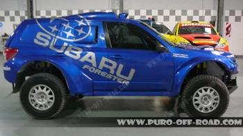 Раллийный Субару Форестер, подготовленный для Ралли-Дакар 2010