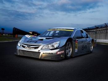 гоночный болид Legacy B4 GT300