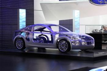 Концепт нового купе от Subaru