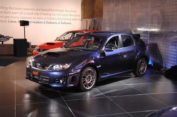 Обновленная Subaru Impreza WRX STI 2011MY хэтчбэк