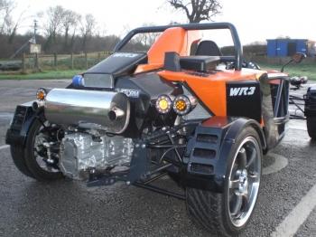 WR3 V-Storm c двигателем Subaru