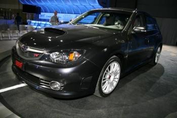 Subaru Impreza WRX STI на автошоу в Лос-Анджелесе