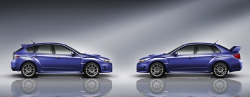 Обновленные Subaru Impreza WRX STI 2011MY
