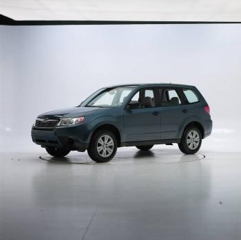 Subaru Forester перед тестом