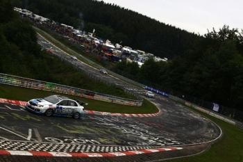 Subaru WRX STI ts. Во время гонки