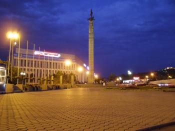 Алматы (Алма-Ата). Центральная площадь (забыл как называется)