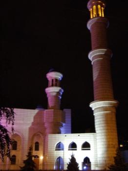 Алматы (Алма-Ата). Самая большая мечеть в Алматы