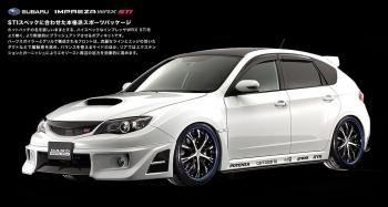 Тюнинг DAMD для Subaru Impreza WRX STI