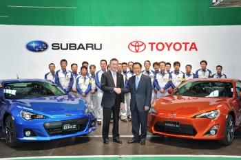 На заводе FHI стартовала сборка спорт-каров Subaru BRZ